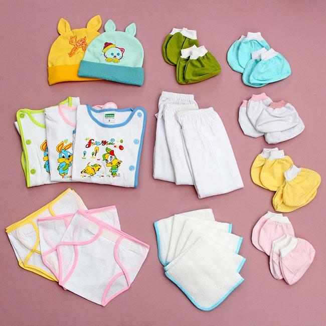Quần áo trẻ em bằng vải cotton